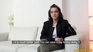 Girthy cock fucks student pussy