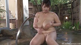 Busty Asian Yuuki likes to play all dirty sex games in the spa