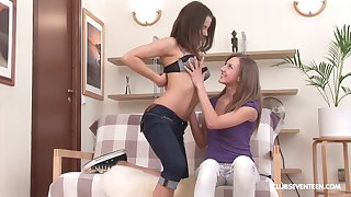 Inna and Jenny Lover deffinitely know how to please their desires