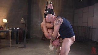 Milf with large tits, mental maledom bondage BDSM