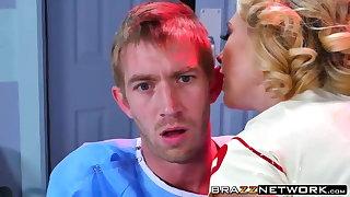 Super nurse Kagney Linn Karter heals the brush in the event that Danny D