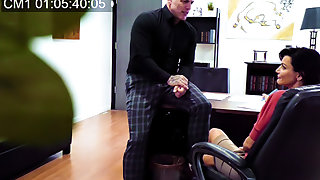 Office Harassment Caught On On stop at
