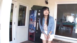 Interracial not on fucking with cum loving Asian Ootsuki Hibiki