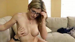 Stepmom Sucking Cock
