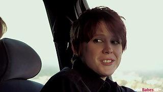 Wet Pussy – Jenna Sativa Pounded By Strap On Officer Lily Cade